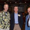 Classmates Chris Hudson, Bill Zeeb and Jerry McCarthy.