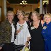 L to R:  April Buchanan, Linda Buckland, Mary Lou Postula, Nancy Rowan, Diane Carnes.